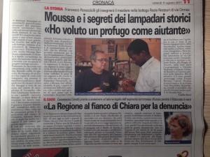 moussa francesco torino cronaca